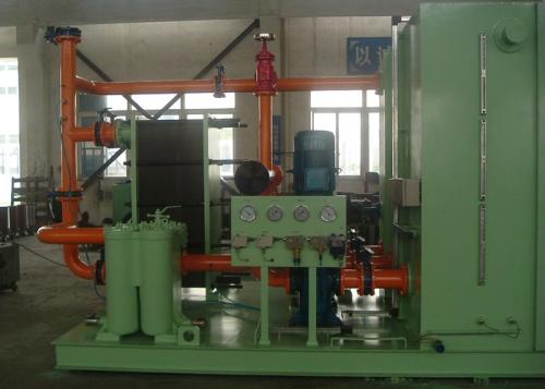 与西安重型机械研究院合作生产XYZ-1000稀油站