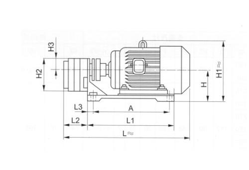 卧式齿轮油泵装置WBZ型