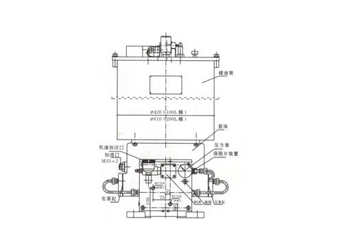 GA- II型电动润滑泵及泵站装置