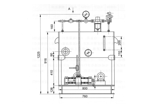 武汉挡轮液压站(TBY一12型)