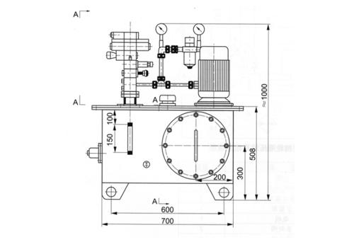 大连挡轮液压站(NC一14)
