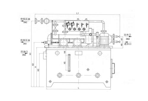武汉GDR型高低压稀油站