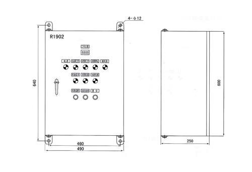 R1902型电气控制箱