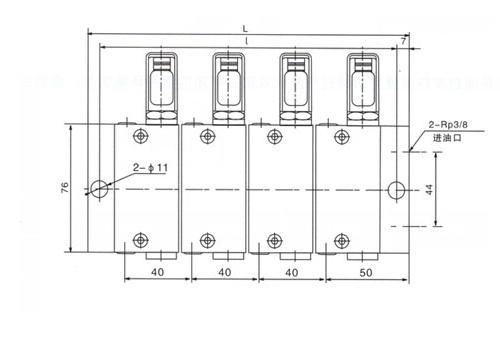 PSX-FL型双线分配器